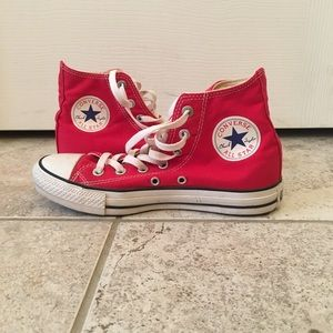 High Top Red Converse